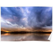 Lake Lanier Sunset III Poster