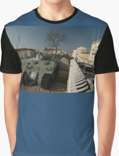 US Army Tank Liberation Memorial, Marseilles, France 2012 Graphic T-Shirt