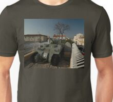 US Army Tank Liberation Memorial, Marseilles, France 2012 Unisex T-Shirt