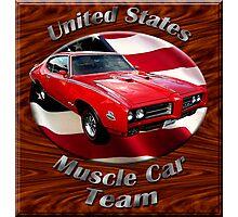 Pontiac GTO Muscle Car Team Photographic Print