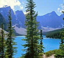 Moraine Lake, Alberta by Alex Cassels