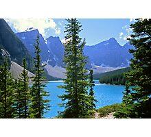 Moraine Lake, Alberta Photographic Print