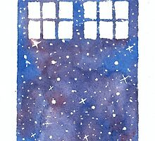 The whole universe in the Tardis by traumfaengerin