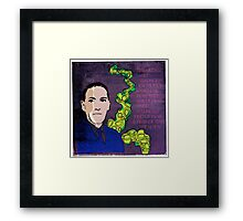 HP LOVECRAFT, AMERICAN GOTHIC WRITER Framed Print