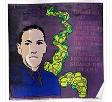HP LOVECRAFT, AMERICAN GOTHIC WRITER Poster
