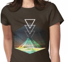 Cool Pyramid tee! Womens Fitted T-Shirt