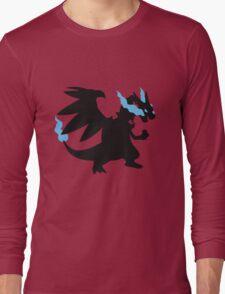Mega Charizard X Long Sleeve T-Shirt