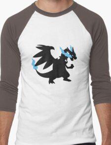 Mega Charizard X Men's Baseball ¾ T-Shirt