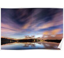 Lake Lanier: Passing Storm I Poster