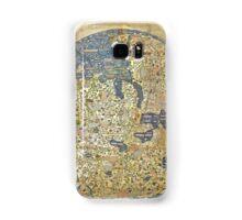fra mauro medieval map Samsung Galaxy Case/Skin