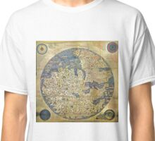 fra mauro medieval map Classic T-Shirt