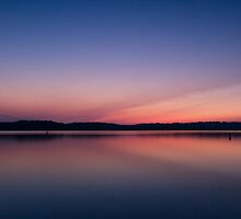 Lake Lanier Sunrise V by Bernd F. Laeschke