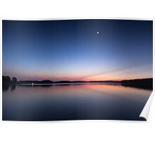 Lake Lanier Sunrise III Poster
