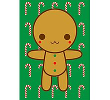 Gingerbread man Photographic Print