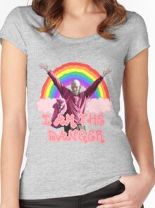 I am the danger princess Women's Fitted Scoop T-Shirt
