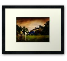 The Hobby Home Framed Print