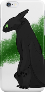 Toothless-Iphone by ImaginaryHooves