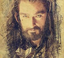 Thorin Oakenshield (Richard Armitage) by aforceofnature
