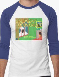 Goodnight Moon Knight Men's Baseball ¾ T-Shirt