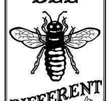 Bee Different by javajohnart