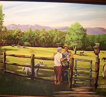 my parents 50th anniversary Log Cabin Farm by Matthew Campbell