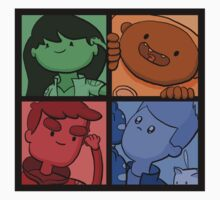 Bravest Warriors Team by sylvaticprawn