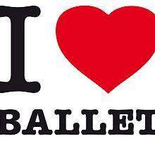 I ♥ BALLET by eyesblau