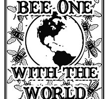 Bee One With the World by javajohnart