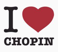 I ♥ CHOPIN Kids Clothes