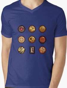 Cookies & Biscuits Mens V-Neck T-Shirt