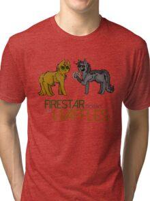 Firestar and Greystripe Tri-blend T-Shirt