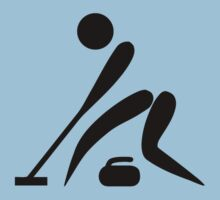 Curling Icon by cadellin