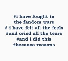 Fandom Wars by Kellyanne