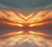 Phoenix Sunset by Roger Green