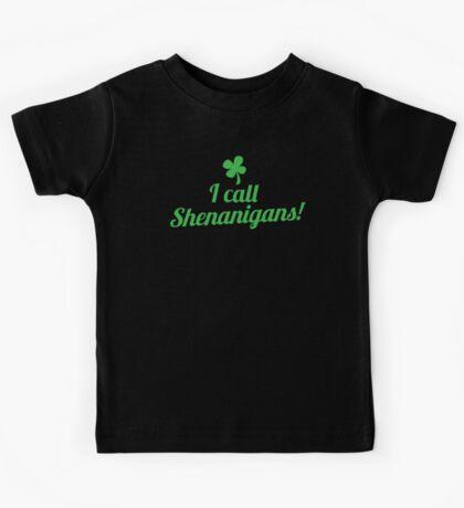 I call shenanigans! Kids Tee