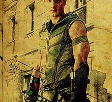 Green Arrow (Justin Hartley) by aforceofnature