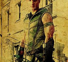 Green Arrow (Justin Hartley) by aforceofnature