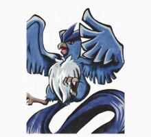 Articuno T-Shirt by GreenSpartan