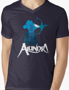 Alundra Mens V-Neck T-Shirt