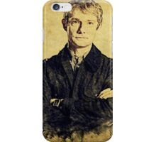 John Watson (Martin Freeman) iPhone Case/Skin