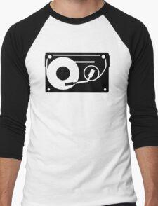 Turntable Tape Men's Baseball ¾ T-Shirt
