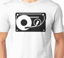 Turntable Tape Unisex T-Shirt