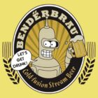 "Futurama - Bender 's Beer ""Let's get drunk!"" by elPotto"