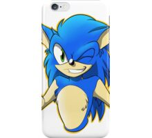 Sonic's Afterfluff iPhone Case/Skin