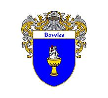 Bowles Coat of Arms/Family Crest Photographic Print
