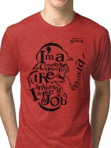 Sherlock Typography Tri-blend T-Shirt