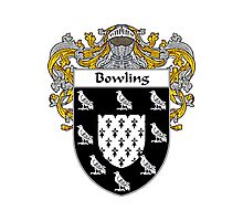 Bowling Coat of Arms/Family Crest Photographic Print