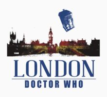 London - Doctor Who, Tardis by LovelyOwls