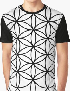 The Flower of Life Graphic T-Shirt