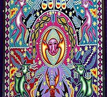 Arte Huichol by Frank Garciarubio